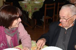 Conversa à mesa com os residentes do Lar de S. José