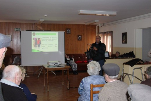 Residentes do Lar S. José recebem ação de sensibilização da GNR