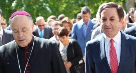 Misericórdia recebe Bispo da Diocese, no dia da Celebração do Crisma