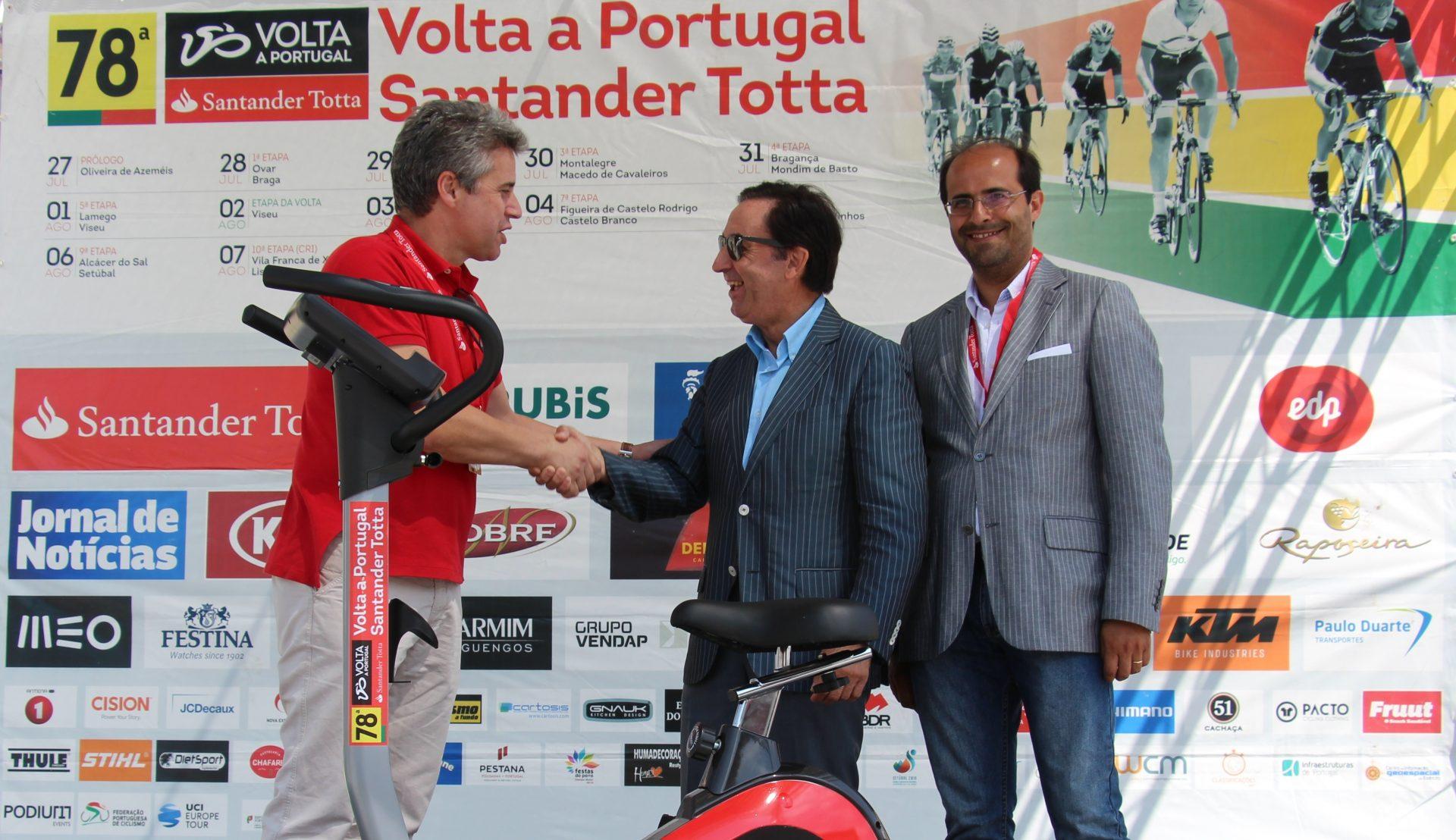 "Misericórdia recebe bicicleta na ""Volta a Portugal em Bicicleta"""