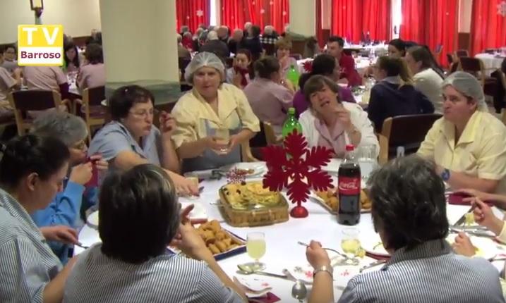 REPORTAGEM TVBARROSO – Almoço de Natal no Lar S. José