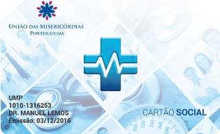 CARTÃO DE SAÚDE DAS MISERICÓRDIAS