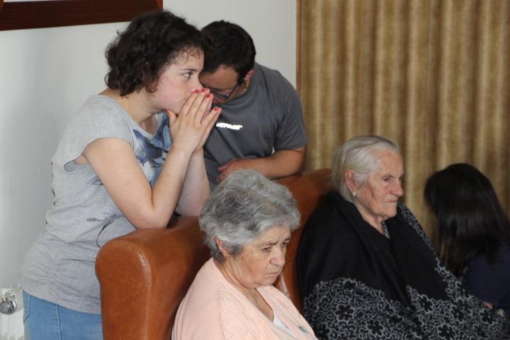 REIKI NO LAR S. JOSÉ PELOS UTENTES DA CERCIMONT